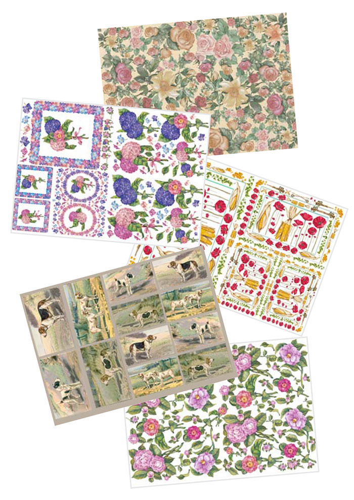 Vendita online to do decoupage set 5 carte enjoy for Vendita online oggettistica