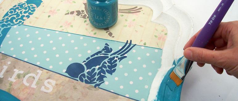 Vendita online Stencil per la decorazione di oggetti e pareti